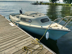 Siren 17 sailboat for sale or trade for camper/pickup truck