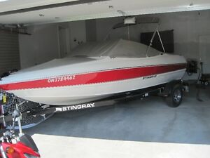 2013 Stingray 180 LX Bow Rider with EZ Loader Trailer