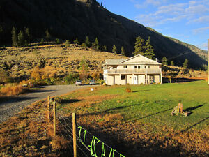 Gorgeous 2 bedroom furnished Keremeos 6 month Winter rental