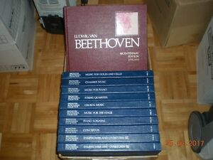 CENTENIAL BEETHOVEN BOX SETS AND BIOGRAPHY VINYL