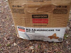 Simpson Strong-Tie Brackets   $75