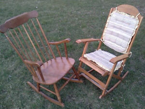 VARIOUS CHAIRS, SETS OF 4, 3, 2 & SINGLE CHAIRS - SOME ANTIQUE Cornwall Ontario image 2