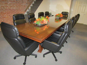 High Back Leather Boardroom Chairs.