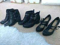 Boots and heels for sale