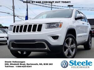 2015 JEEP GRAND CHEROKEE Limited - Low Mileage, Winter Tires Inc