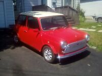 right hand 1987 classic mini $5,500 as is.serious inquiries only