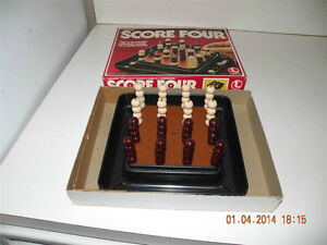 Score Four-Strategy game-Lakeside 1978-COMPLETE