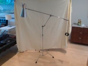 MCM-inspired floor lamp light Eames Knoll Prouve Artemide Flos