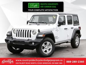 2018 Jeep Wrangler Unlimited Sport 4x4  - Heated Seats