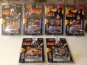 KISS - JOHNNY LIGHTNING CARS FROM 1997