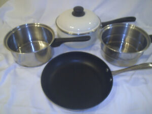 Camp Cooking Pots & Fry Pan