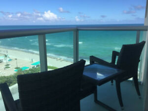 RIGHT ON THE BEACH - 2/2 Oceanview Condo, Tides Hollywood, FL