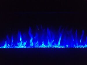 "36"" Built in Flush Mount Electric Fireplace"