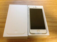 New iPhone 6 16GB Bell/Unlocked with Apple Care Plus Mar 2017