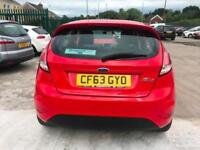 2014 63 Ford Fiesta 1.25 ( 60ps ) 2013.25MY Style Petrol 5 Speed Manual