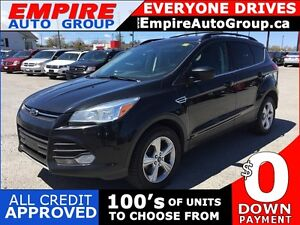 2013 FORD ESCAPE SE * AWD * LEATHER * NAV * SAT RADIO SYSTEM