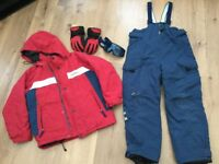 Cross Ski Suit Size 128/134
