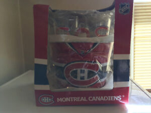 Montreal Canadian pub glasss and ice bucket set