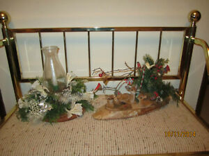 Two Older type Xmas decorations sold separate.