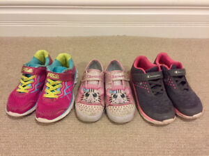 Girls Sketchers Shoes - Size 10