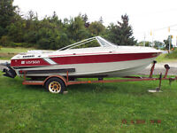 17 1/2 foot Boat & Trailer for sale