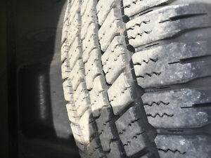 4 Goodyear wrangler tires 275-60 r20
