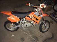 2005 ktm 50 Jr.  Just in time for Christmas!!!