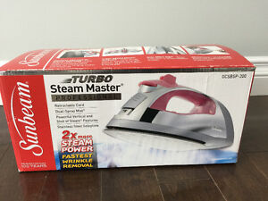 Turbo Steam Master Iron