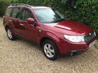 SUBARU FORESTER XS, Red, Auto, Petrol, 2009