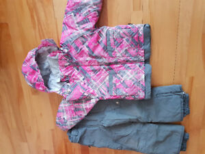 Habit de neige pour fille 5 ans