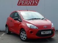 2014 FORD KA 1.2 Studio 3dr [Start Stop]