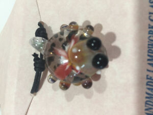 Handmade Glass Frog Pendant