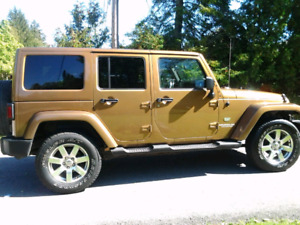 2011 70th anniversary edition jeep wrangled unlimited