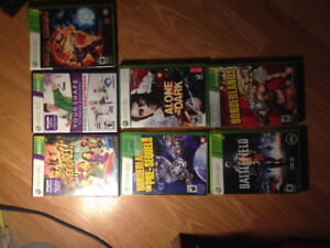 Xbox 360 games forsale