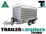 9x5 GALVANISED STOCK CRATE TRAILER Traralgon East Latrobe Valley Preview