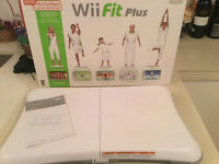 Wii board planche + Wii fit impeccable-45$