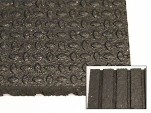 """Horse Stall Mats - 4' x 6' x 3/4"""" - Made in Canada"""