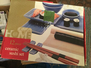 Ceramic  Sushi  Set. (NEW)