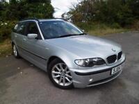 BMW 3 SERIES 320D ES TOURING 5SPD MANUAL, Silver, Manual, Diesel, 2004