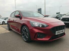 image for Ford Focus ST-Line X Automatic 1.5 150ps Petrol in Ruby Red NAV, DAB, Auto, SYNC