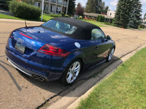 2011 AUDI TTS  QUATTRO CONVERTIBLE WITH ONLY 36900 KMS