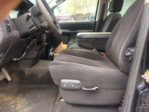 2002 and up dodge crew interior seats carpet head liner ect.