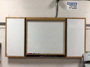 Office Shutting down - 4 foot white board - $75.00