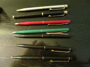BALL POINT OR LEAD: CROSS, SHEAFFER, PARKER, other Int'l brands