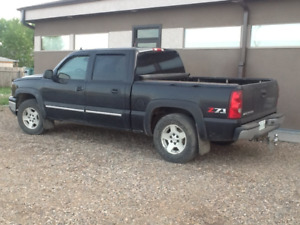 Chev 1500 4 door pickup for sale or trade for small SUV or car