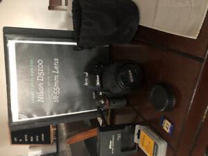 Nikon D5100 DSLR with Kit Lens