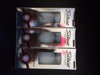 18 Titleist Pro V1X golf balls new