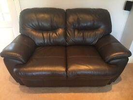 3 & 2 seater leather sofas (possible local delivery)