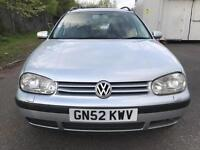 2002 Volkswagen Golf 1.9 TDI PD SE 5dr