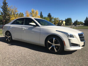 2014 CADILLAC CTS4 2.0T AWD / HEATED-COOLED LEATHER / LOADED!